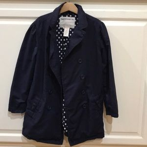 Girls lightweight rain/spring coat
